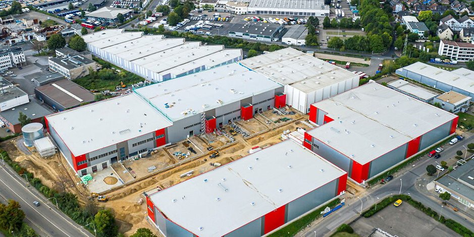 MVI PROPLANT: Aufbau eines Logistikzentrums für Elektronik-Fachgroßhändler